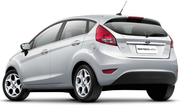 New Fiesta Hatch 2012