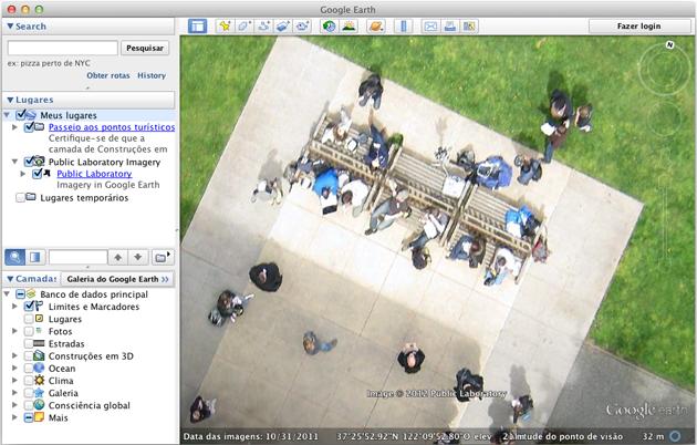 Google Earth de Balão