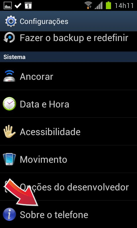 Menu Android