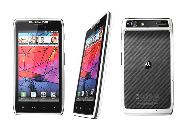 Motorola RAZR branco