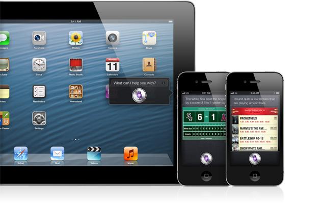 Siri no iPad