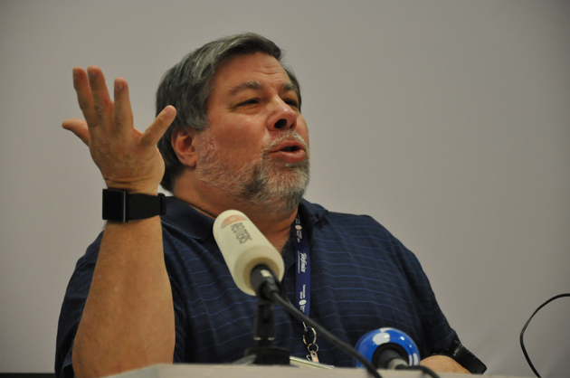 Steve Wozniak na Campus Party de 2011