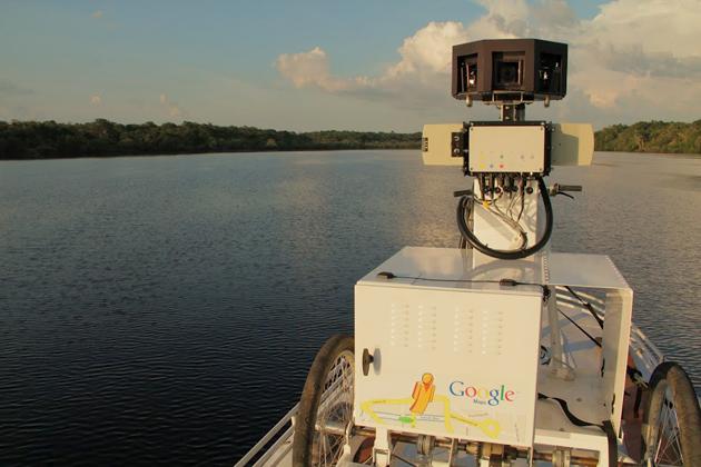 Street View na Amazônia