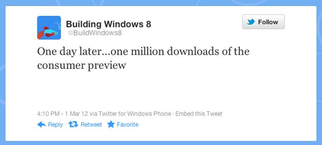 Twitter da Microsoft