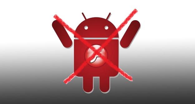 Android não terá mais Adobe Flash