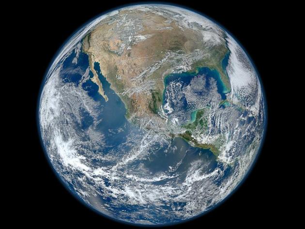 Maior Imagem Do Planeta Terra Fotografia