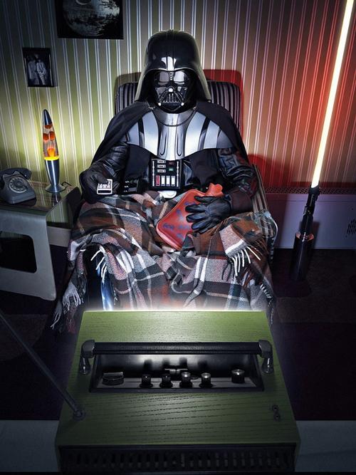 Darth Vader velho