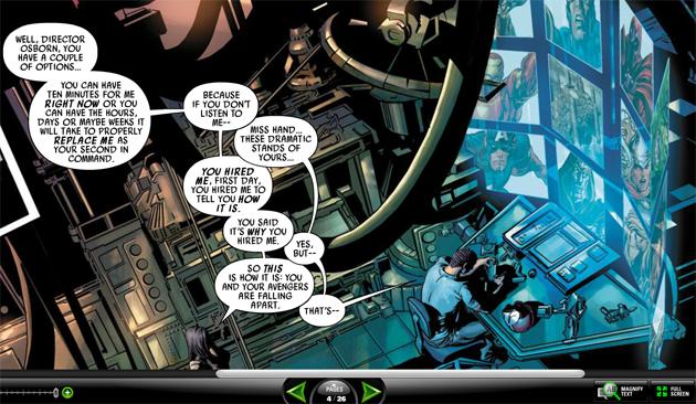 Acervo da Marvel online