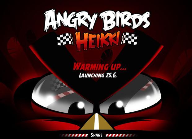 Angry Birds Heikki adiado