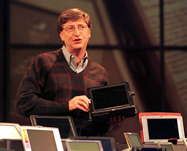 Bill Gates em 1998