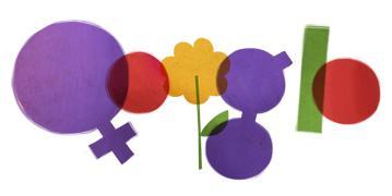 Doodle Dia Internacional da Mulher