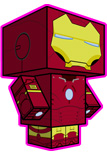 Iron Man Paper Craft