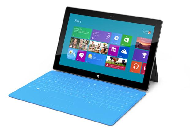 Novo tablet da Microsoft