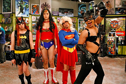 the big bang theory heroínas
