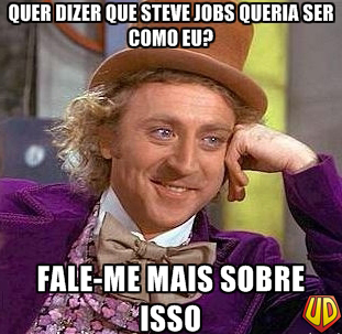 Willy Wonka Steve Jobs