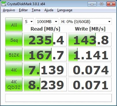 Crystal Disk Mark 3.01 64 Bits