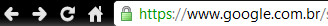 HTTPS com SSL no Google Chrome