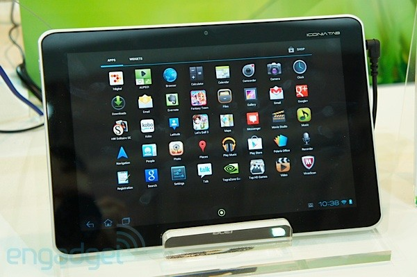 Acer Iconia Tab 210 - Créditos Engadget