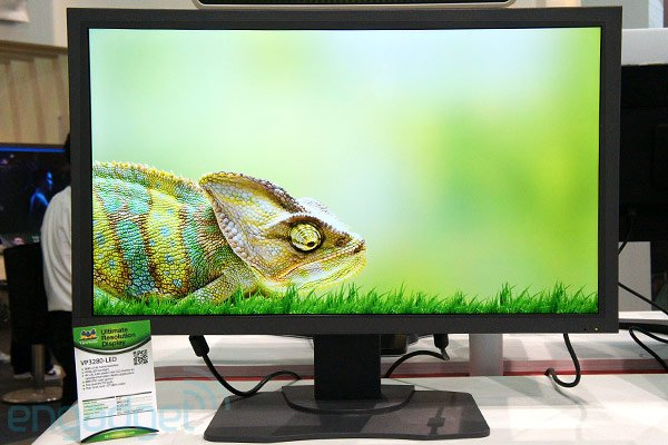 ViewSonic VP3280-LED 31,5 polegadas 4K na Computex 2012