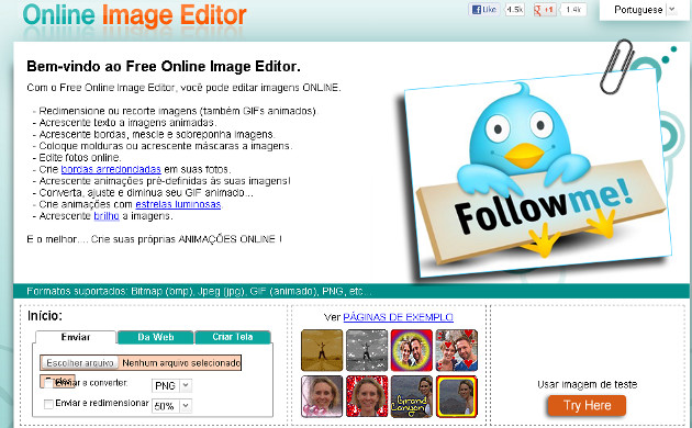 Home do Online Image Editor