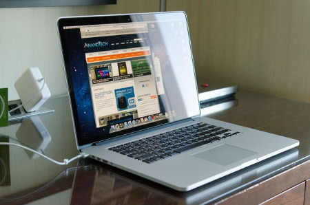 MacBook Pro de 15 polegadas com Retina Display