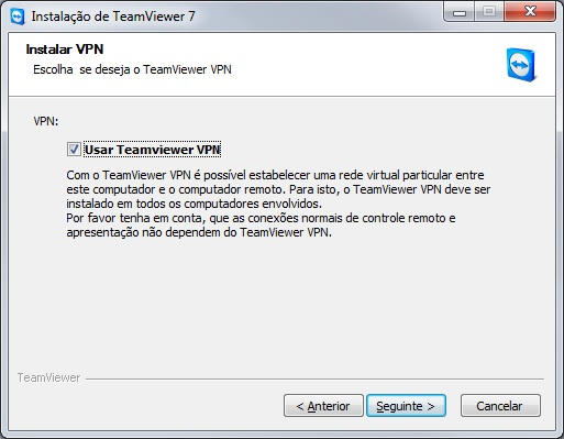 Teamviewer via VPN